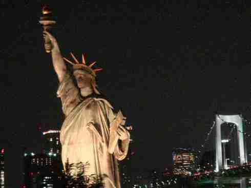 东京自由女神.大家都知道美国纽约有自由女神,-生活花絮范本