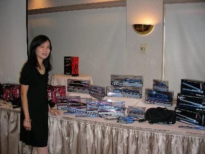 紐奧良的sales meeting, before my presentation with my new product launch
