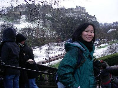 09年底到英國愛丁堡過新年